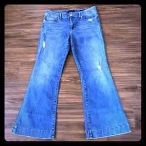 """Seven sexy flare jeans sz 14 inseam~32"""" EUC"""